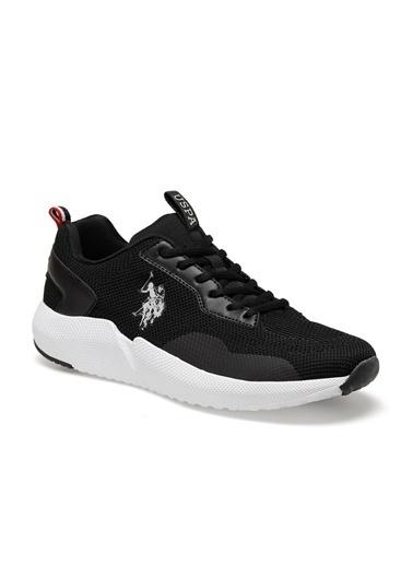 U.S. Polo Assn. Sam Erkek Sneaker Ayakkabı Siyah